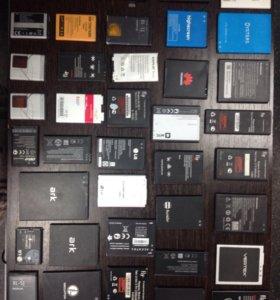 Аккумуляторы для телефонов(оригинал)