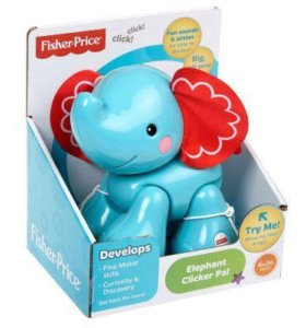 Fisher Price слоник новый