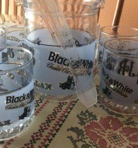 Набор бокалов для виски с ёмкостью для льда