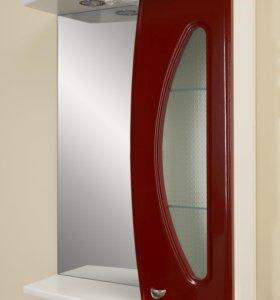 Шкаф-зеркало Квадро 03 правый 550х745х220