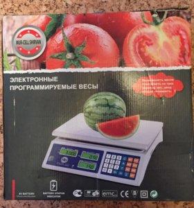 Электронные программируемые весы