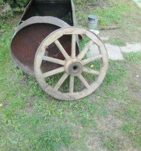 Продаю деревянные колеса для телеги