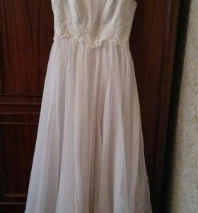 Свадебное платье в подарок кольца под платье