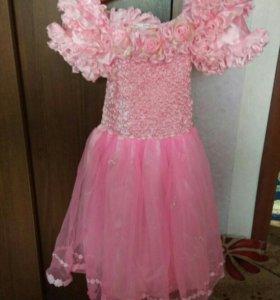 Детские платья на 4-6 лет