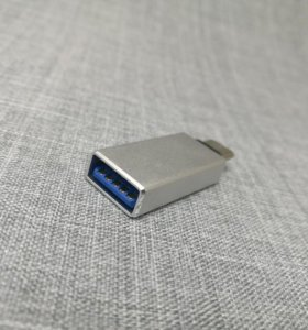 OTG-переходник USB Type-C Baseus. Серебряный