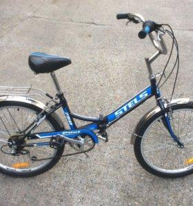 Велосипед как новый, складной, со скоростями