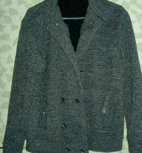 Мужское пальто (теплый пиджак)