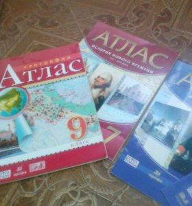 Атлас за 7 и 9 класс