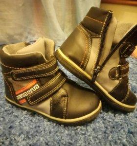 Ботинки осенние полусапоги