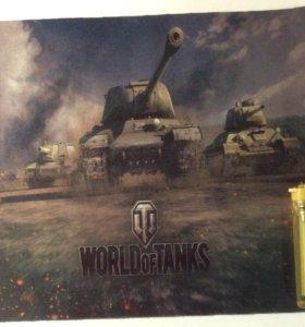 Коврик world of tanks