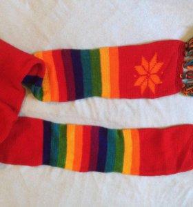 Новый шерстяной шарф