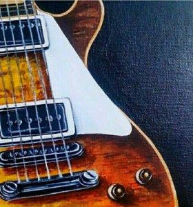 """Интерьерная картина """"Guitar"""""""