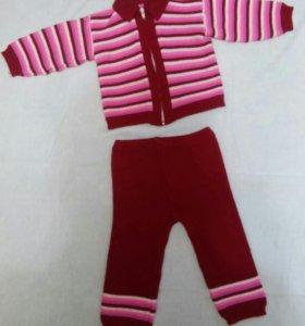 Продам вязанный костюм