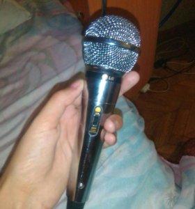 Микрофон для караоке город Чапаевск