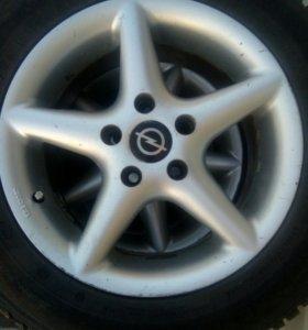 Колеса на Opel
