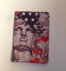 Обложка для паспорта в подарок