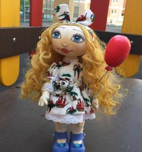 Интерьерная кукла. Ручная работа.