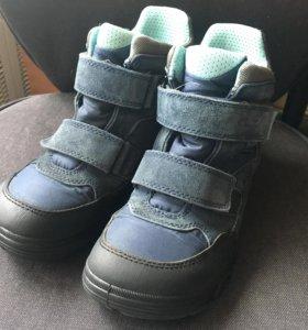 Ботинки Экко гортекс осень-зима р.36