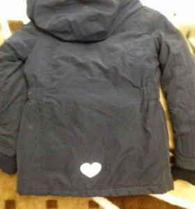 Тёплая куртка!