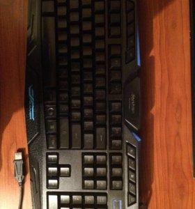 Клавиатура,мышь,наушники