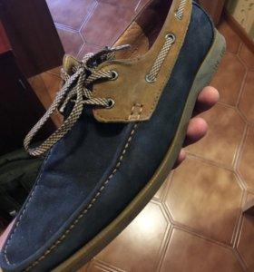 Ботинки(мокасины) Ecco