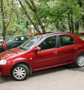 Рейлинги Renault logan