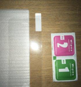 Закалённое стекло (новое) на iPhone 5/5c,s/SE