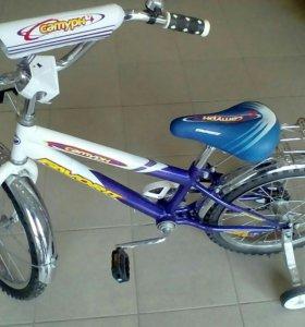 Велосипед сатурн