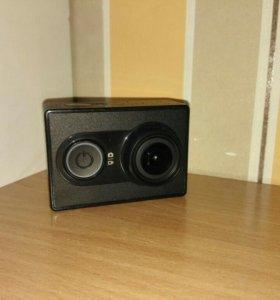 Экшн камера xiaomi yi (original) + доп. аксессуары