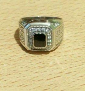 Печатка (серебро 925) с камнями
