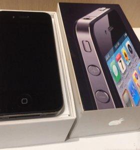 iPhone 4 чёрный 16Gb