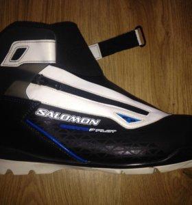 48 размер! Ботинки лыжные Salomon Escape 7 Pilot!