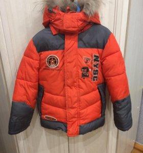 Зимняя куртка рост 98