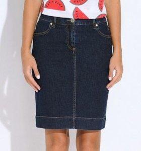 Юбка джинсовая Dasmann размер 54-56