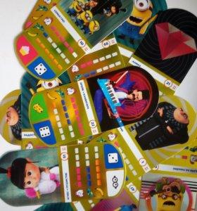 Карточки с Миньонами Гадкий я 3 из Магнита