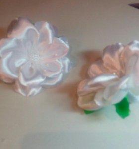 Цветочек- бант👍
