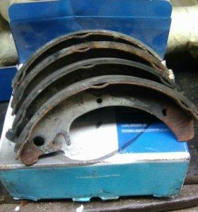 Задние тормозные колодки на ваз 2109