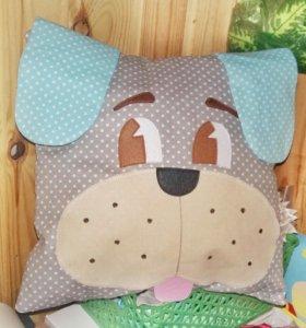 Подушка-игрушка собака