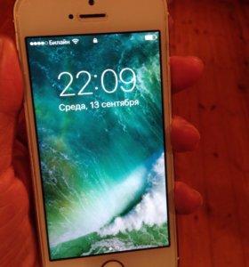 Айфон 5s 16гб голд