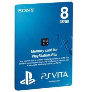 Memory Card PS VITA 8Gb
