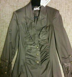 Приталенный пиджак/жакет, р. 42-44 Новый