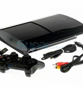 PS 3 500g,2 джойстика,20 игр