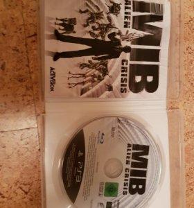 Игра для PS 3 название MIB ALIEN CRISIS