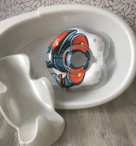 Ванночка, горка, круг