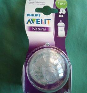 Соска силиконовая для бутылочки Philips AVENT