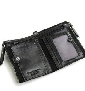 Новый брэндовый кожанный бумажник Cross-X