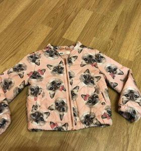 Курточка H&M 2-3 года