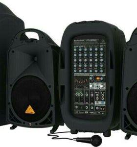 Звукоусиливающая система Беринжер 2000Вт