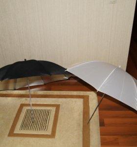 Фото зонты на просвет и отражение софтбокс 60x90