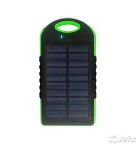 Solar Power Bank 5000 Мач новый